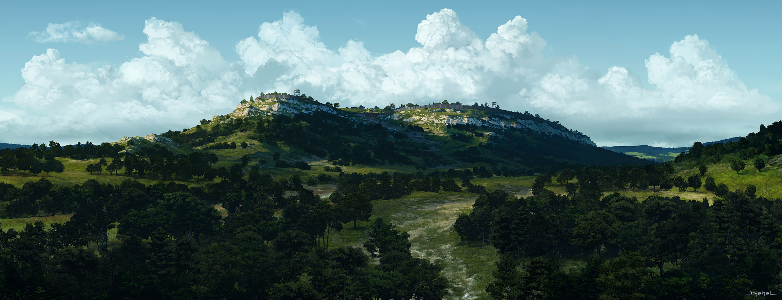 2014 | Background Art | Program 33 | Le Dernier Gaulois